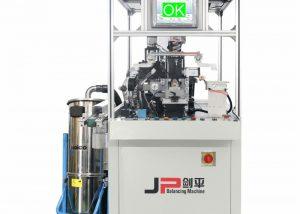 Equilibradora automática para rotor de bobina